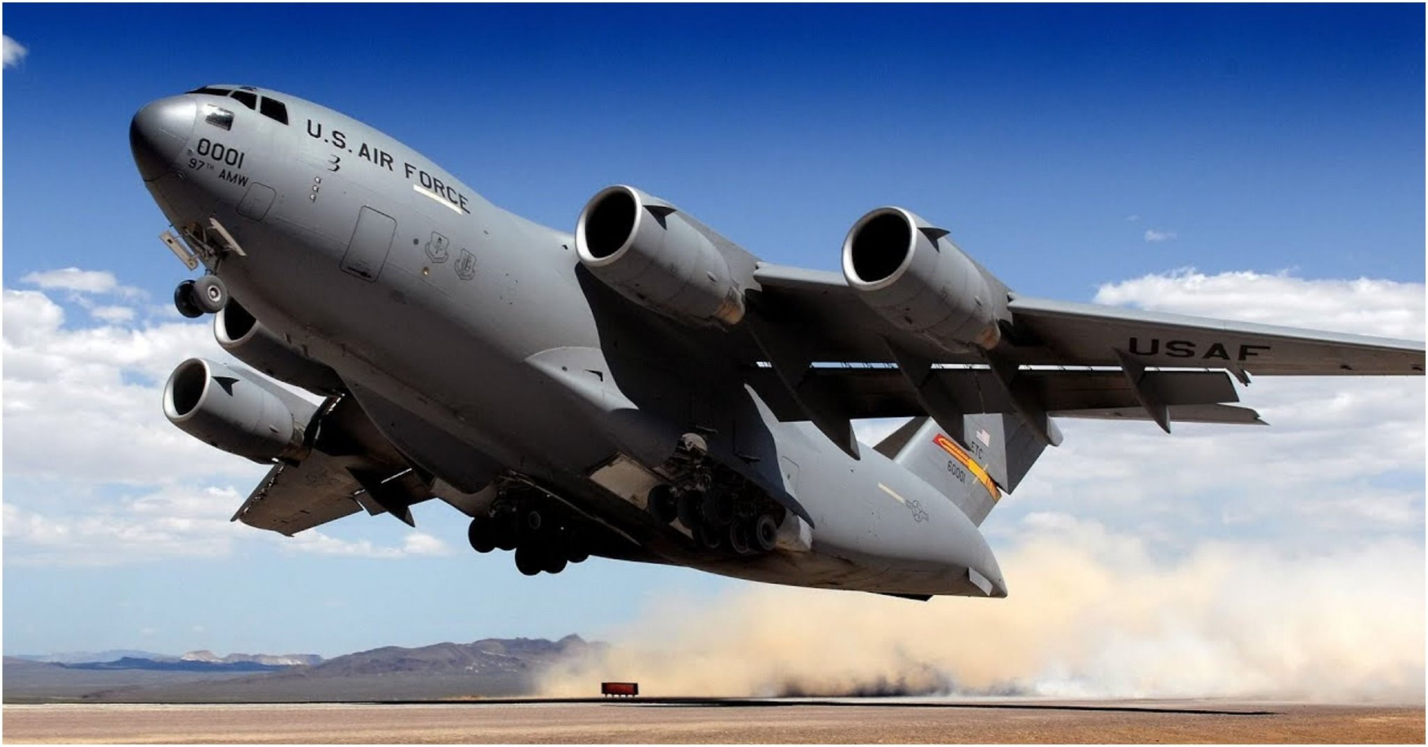Sky Fortresses - 15 Biggest Aircraft Under US Airforce's Command