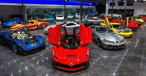 Most People Will Never Get To Visit These Sick Car Dealerships