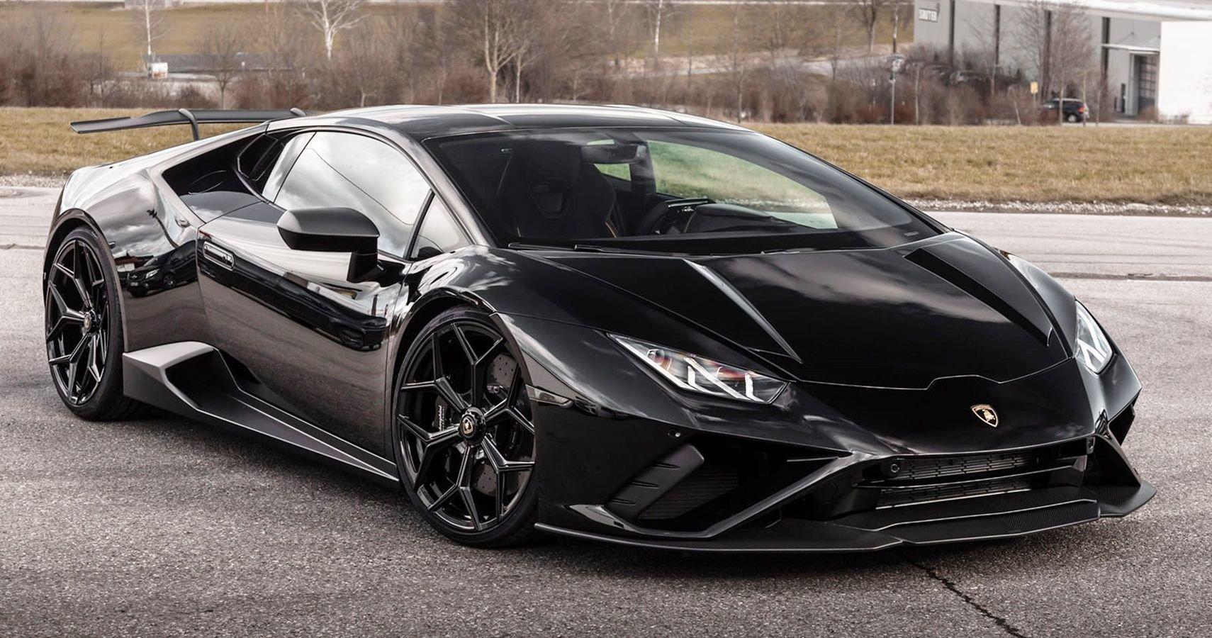 Novitec's Lamborghini Huracan Evo RWD Offers Handling Upgrades And Sporty Add-On Components