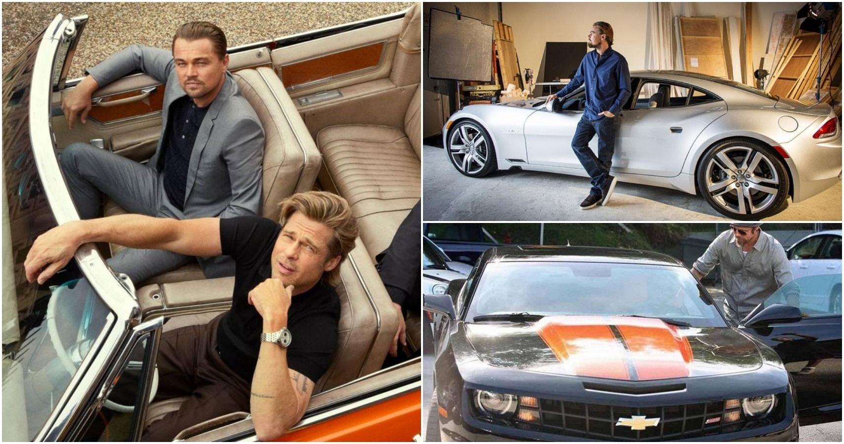 Brad Pitt Vs Leo DiCaprio: Who Drives Better Cars?