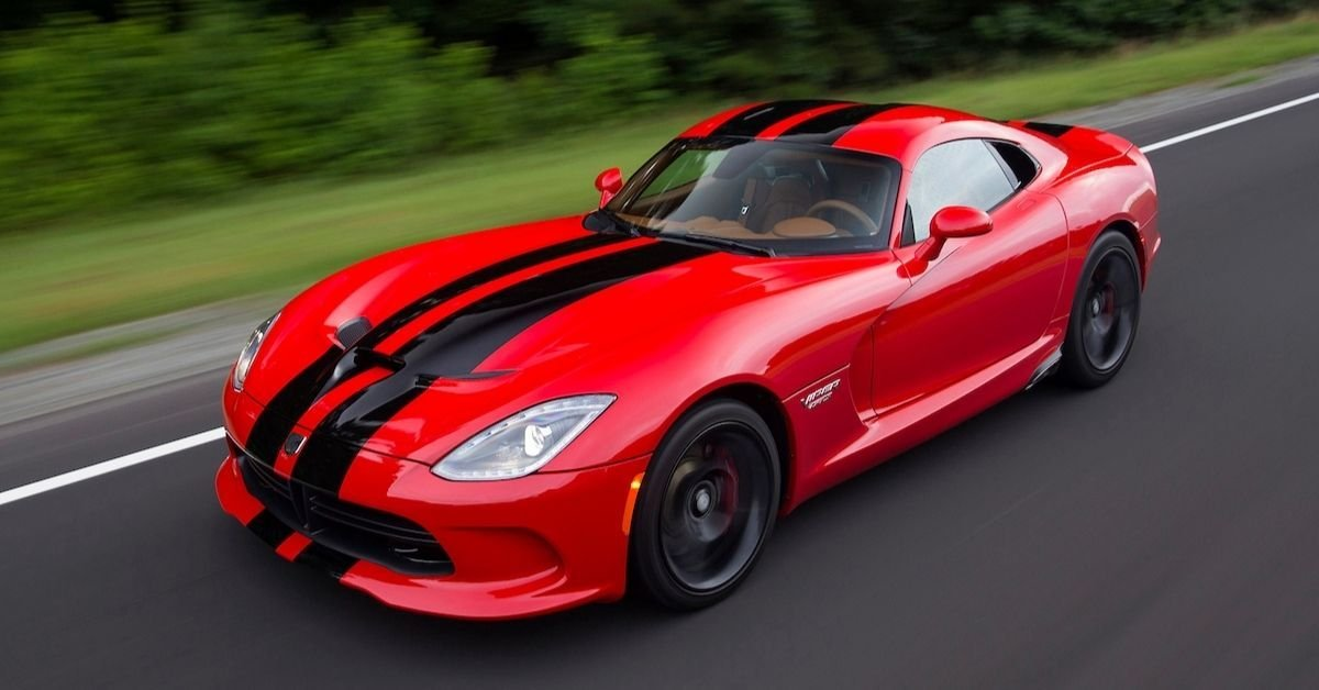 Here's What Gives The Dodge Viper A Dangerous Reputation