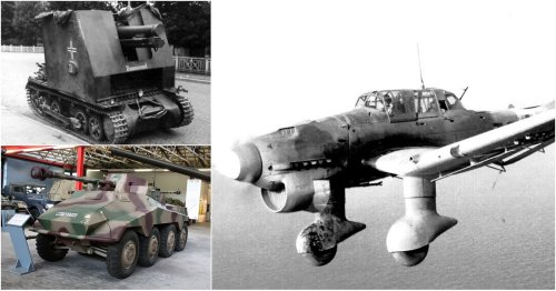 Check Out These Scary Military Vehicles Used By The Germans In WW2