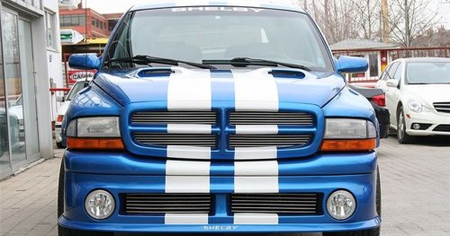Here's Some Amazing Shelby Vehicles That Aren't The Mustang