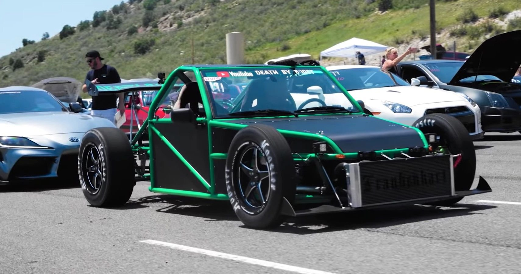 This 800-HP Go-Kart Built From Scratch Puts Sports Cars To Shame