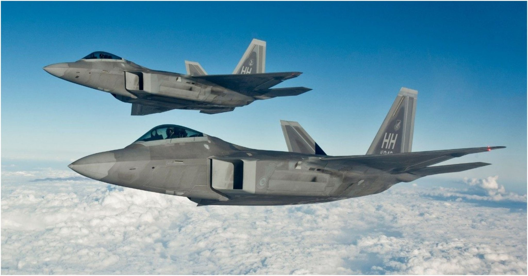 These Are The Coolest Jets In The US Air Force's Arsenal