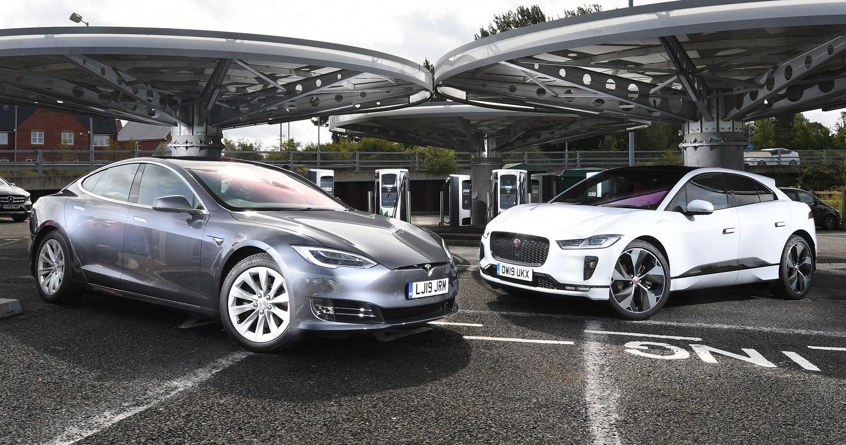 Jaguar I-Pace Vs Tesla Model S: Here's Which EV Is Best