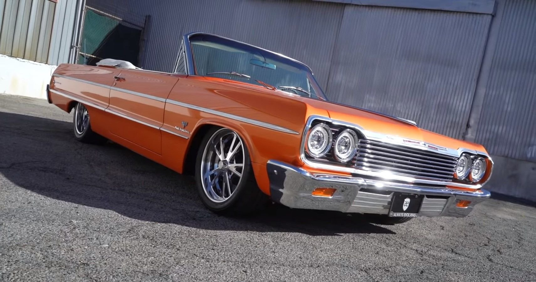 This Air-Suspended 1964 Chevrolet Impala SS Convertible Has A Special Personal Story