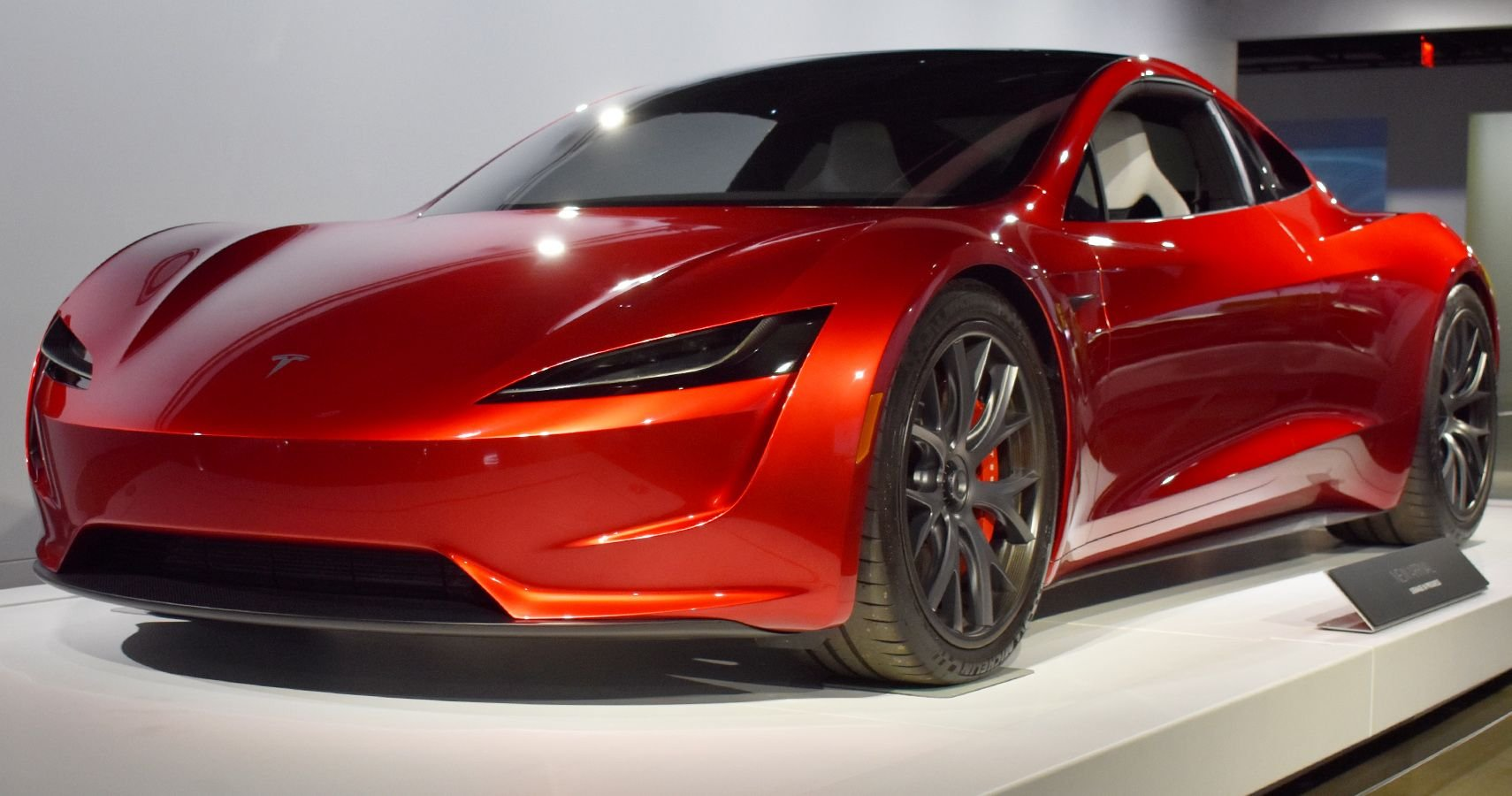 EXCLUSIVE: First Shots Of The New Tesla Roadster At The Petersen Museum