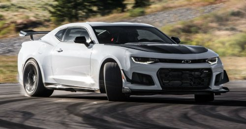 We Can't Get Enough Of These 15 Chevrolet Camaro ZL1 Photos