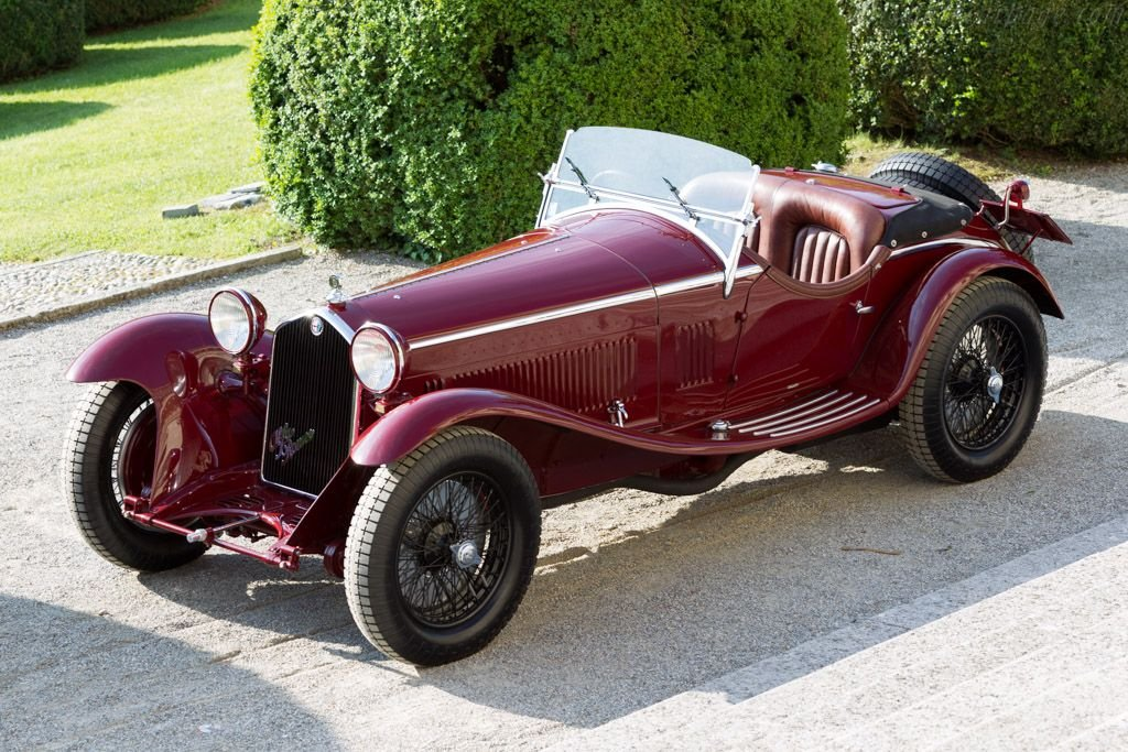 A Detailed Look At The Legendary Ride 1931 Alfa Romeo 8C Spider by Zagato