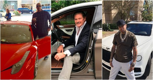 15 Former Celebrities Who Drive Cars They Can't Afford