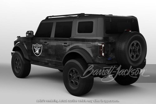 Raiders Edition Ford Bronco To Benefit Charity Up At Barrett-Jackson