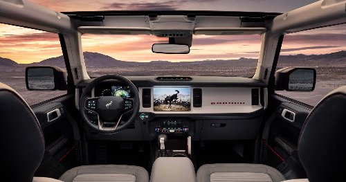 Here's The Best Interior Feature Of The 2021 Ford Bronco