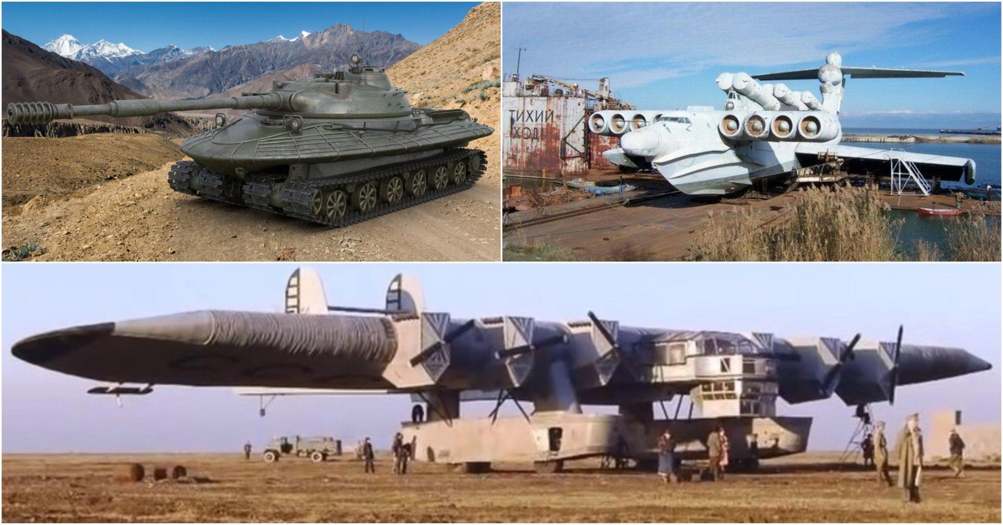 15 Crazy, Top Secret Soviet Military Vehicles That Make No Sense