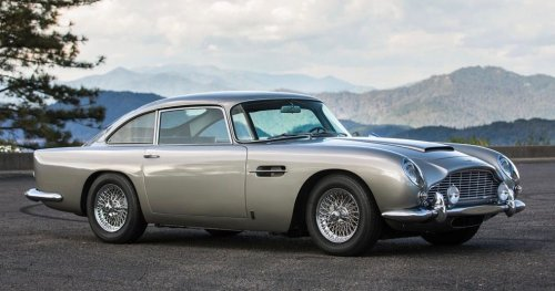 James Bond's Aston Martin DB5 With Gadgets Sold For A Cool $6.4M