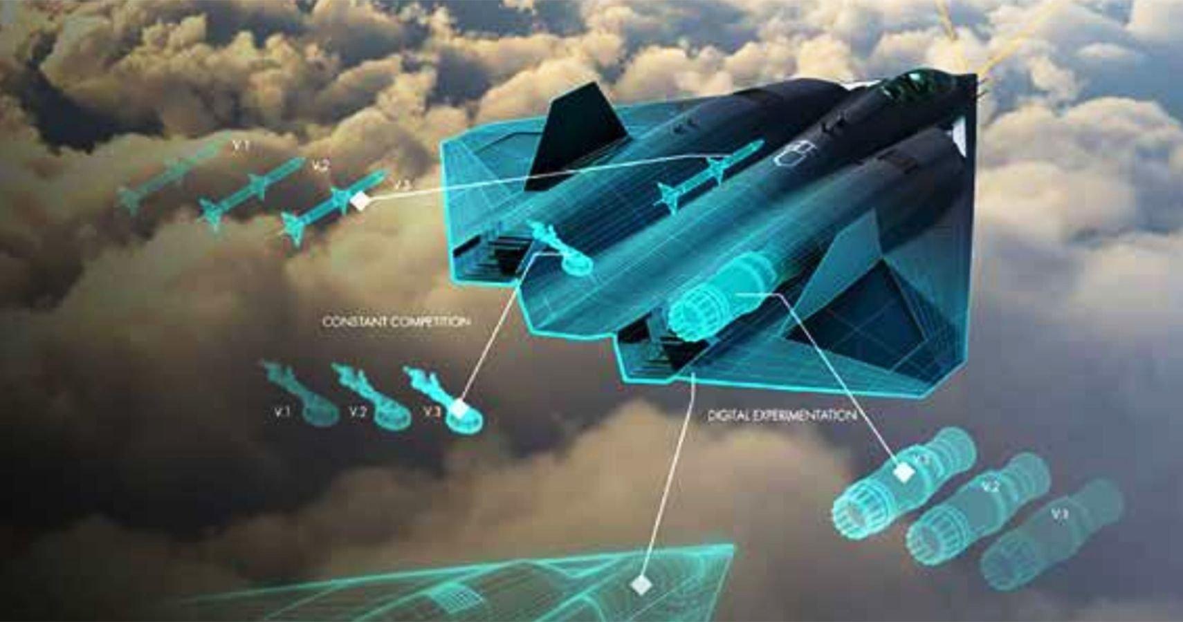 US Air Force Previews Next-Gen Fighter Jet