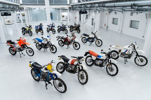 A Look Back At the 40 Year History Of The BMW GS Motorcycle