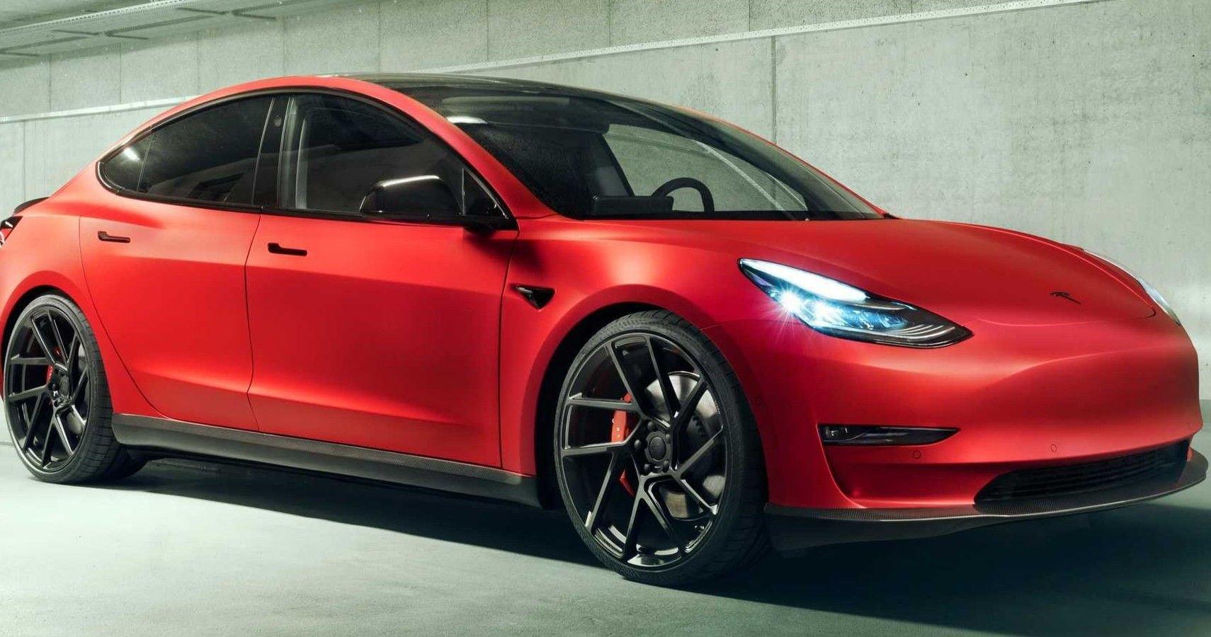 Novitec Rolls Out Slick Tesla Model 3 Upgrades