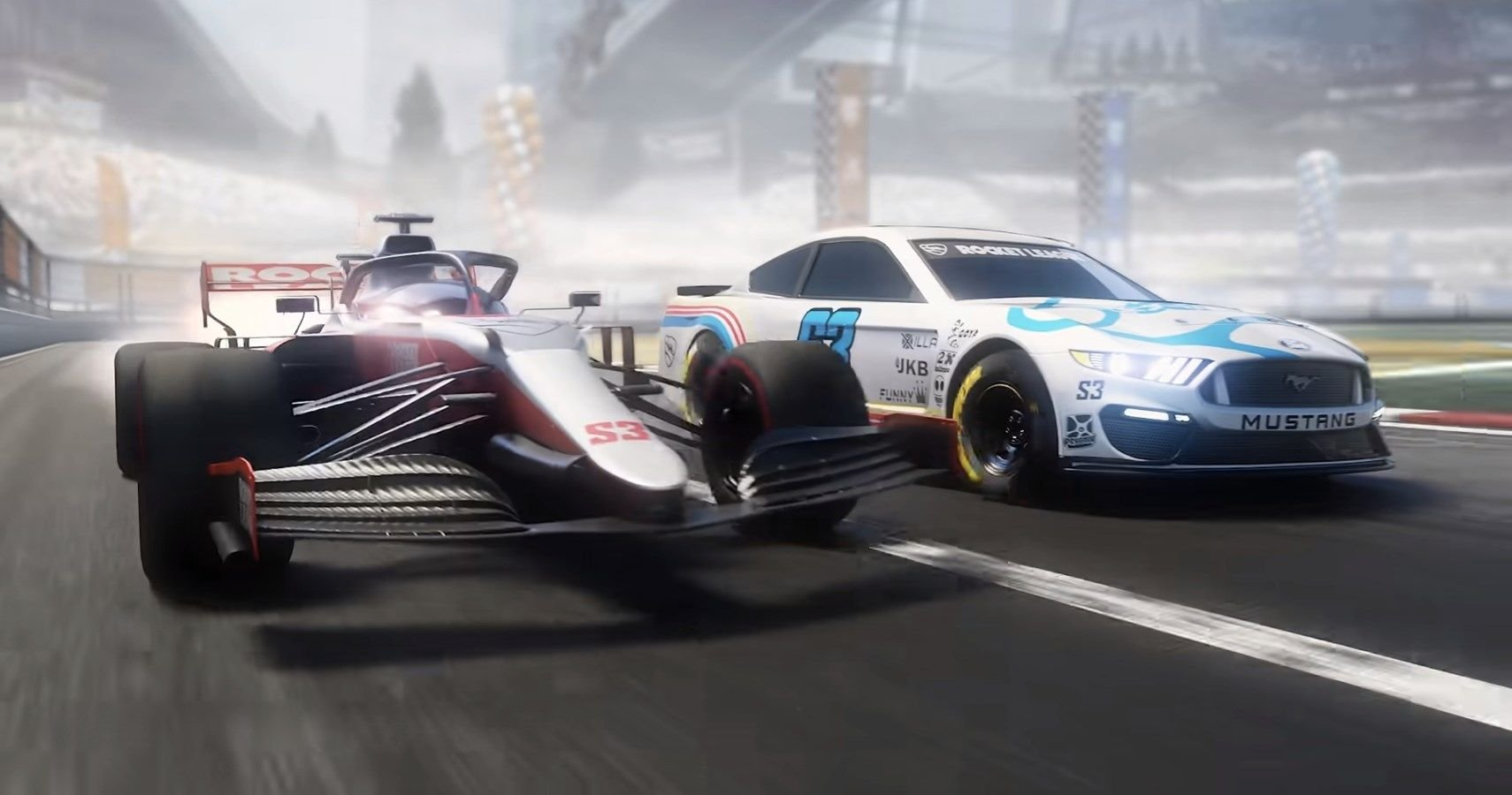 Watch The Trailer: Rocket League Adding NASCAR And Formula 1 Content For Season 3