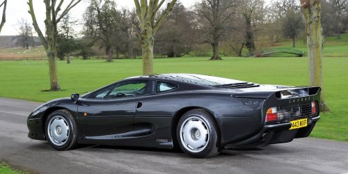 Here's What The The Jaguar XJ220 Is Worth Today