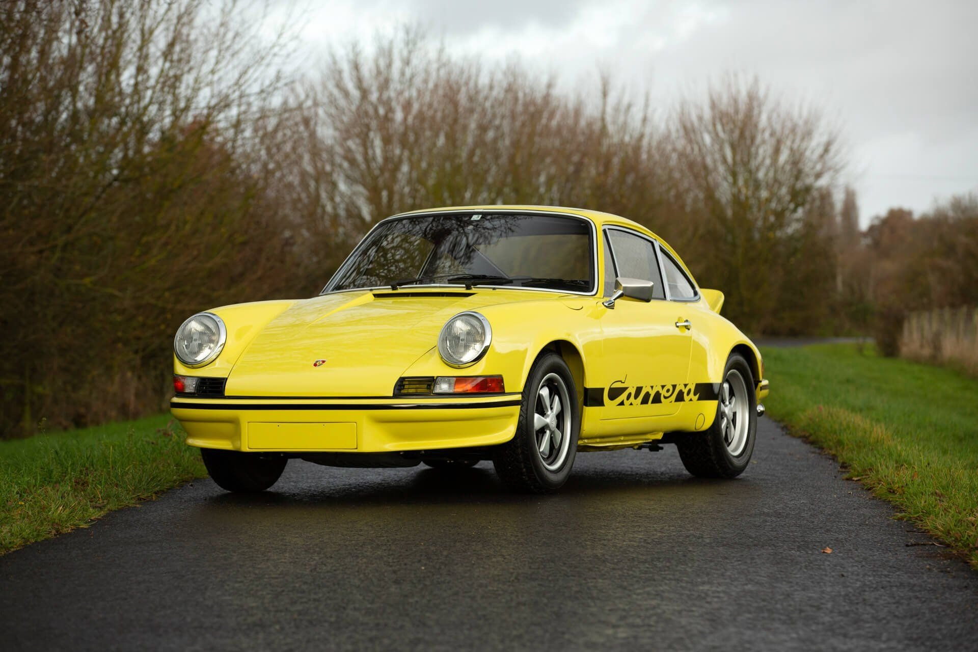 Here's Why The 1972 Porsche 911 Carrera RS Is The Holy Grail Of Classic 70s Sportscars