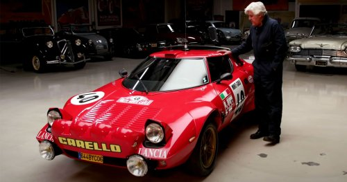 Watch Jay Leno Drive The Legendary Lancia Stratos HF In Los Angeles