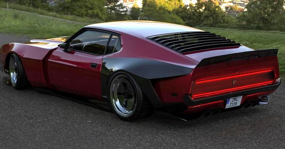 This Mustang Mach 1 Rendering Looks Meaner Than The Original