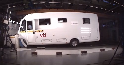 RV Crash Tests Reveal How They're Basically Death Traps