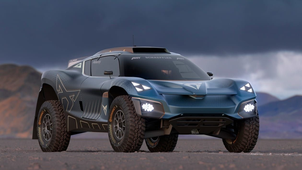 The Cupra Tavascan Extreme E Concept Is The Future Of Electric Rally Cars