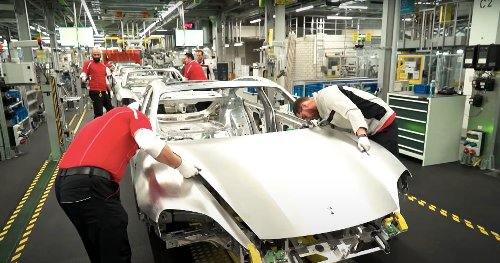 New Porsche Documentary Gives Look Inside Taycan Assembly Line