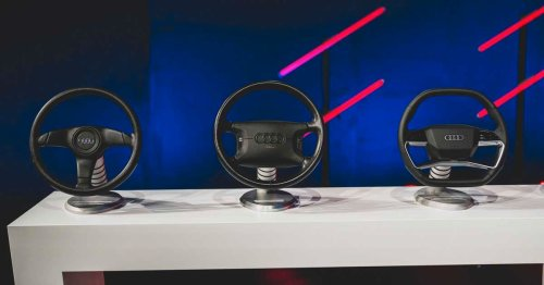 Here's How Audi Is Revolutionizing The Steering Wheel