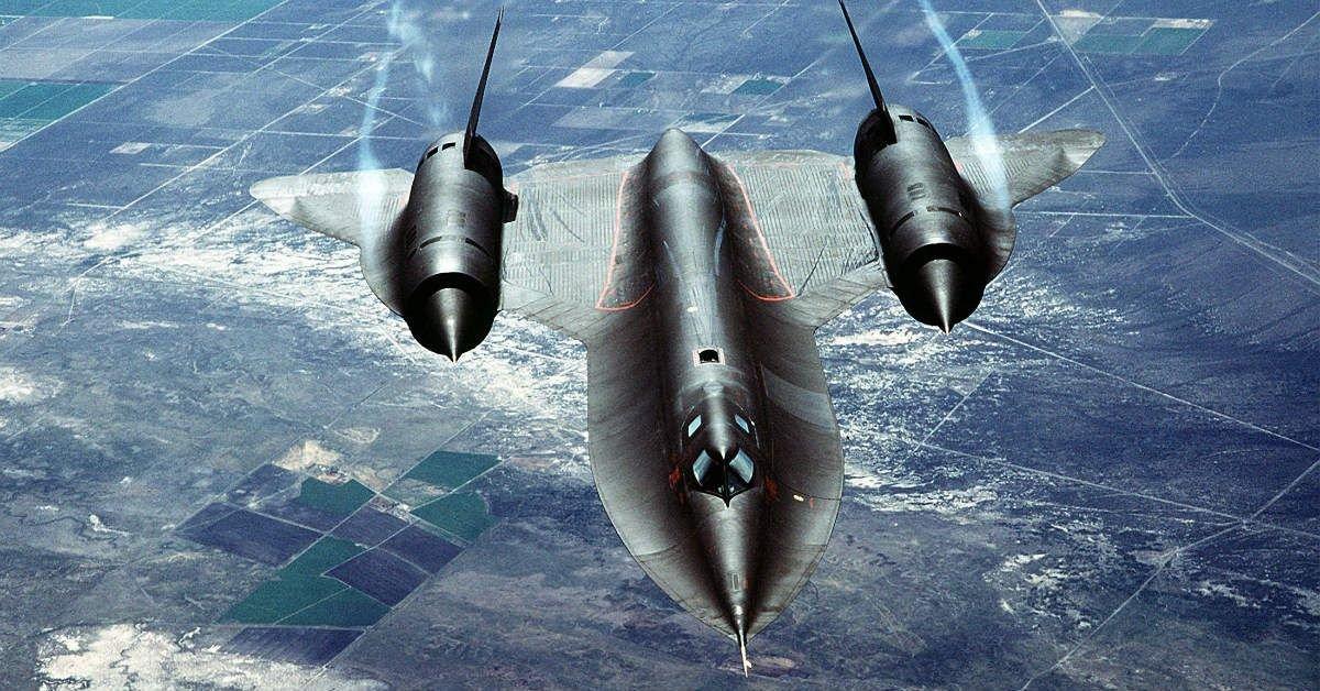 Secrets We Never Knew About The SR-71 Blackbird