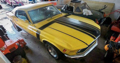 Barn Find: 1970 Boss 302 Mustang Sitting For 50 Years
