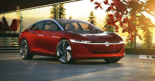 Volskwagen's I.D. VIZZION Is An EV Wish Serious Range & Automation