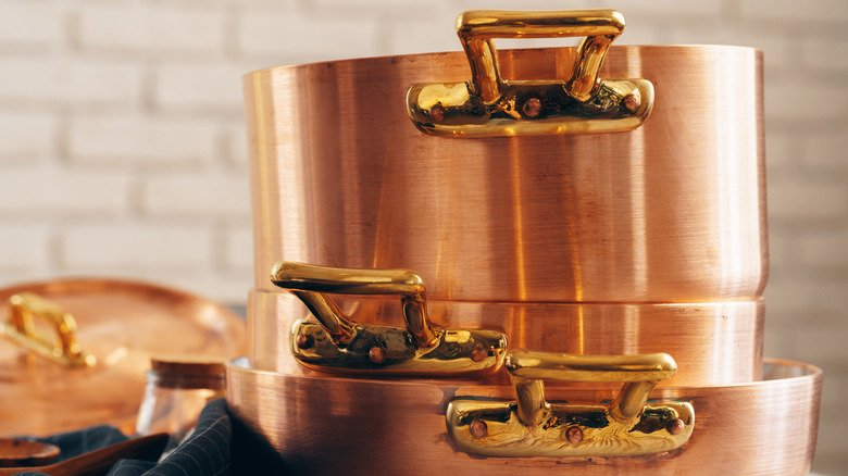 You've Been Cleaning Your Copper Pots All Wrong