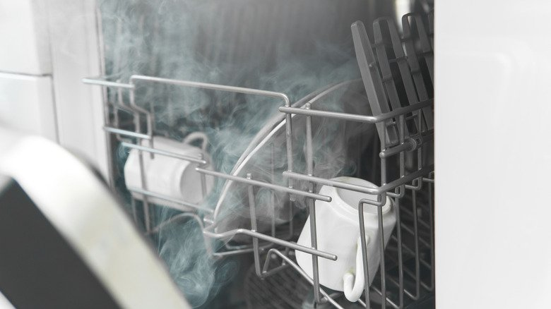 Why You Should Think Twice About Using The Heated Dry Cycle On Your Dishwasher