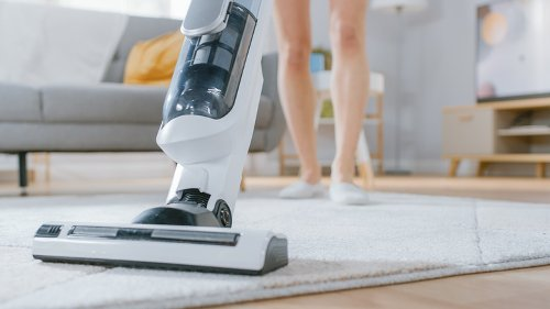 You Should Never Do This When Vacuuming Area Rugs