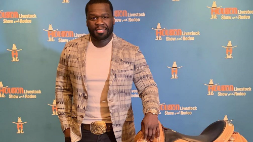 After Meme Madness, Newstonian 50 Cent Is the Toast of Rodeo Wine Event