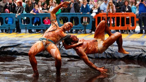 Why Gravy Wrestling Is an Annual Tradition in One British Town