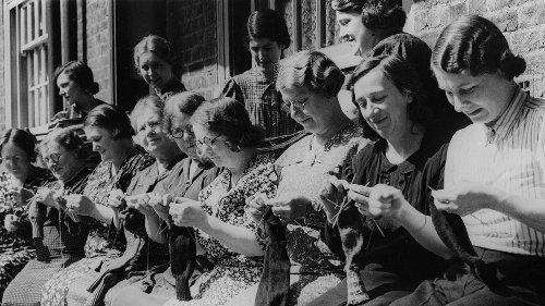 Crafty Wartime Spies Put Codes Right Into Their Knitting