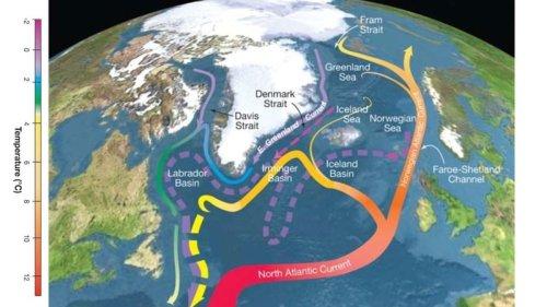 Atlantic Ocean Currents Weakening, Near Verge of Collapse, Study Says