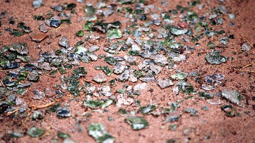 Trinitite: How the First Nuclear Bomb Turned Sand to Glass
