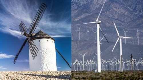 What's the Difference Between a Windmill and a Wind Turbine?