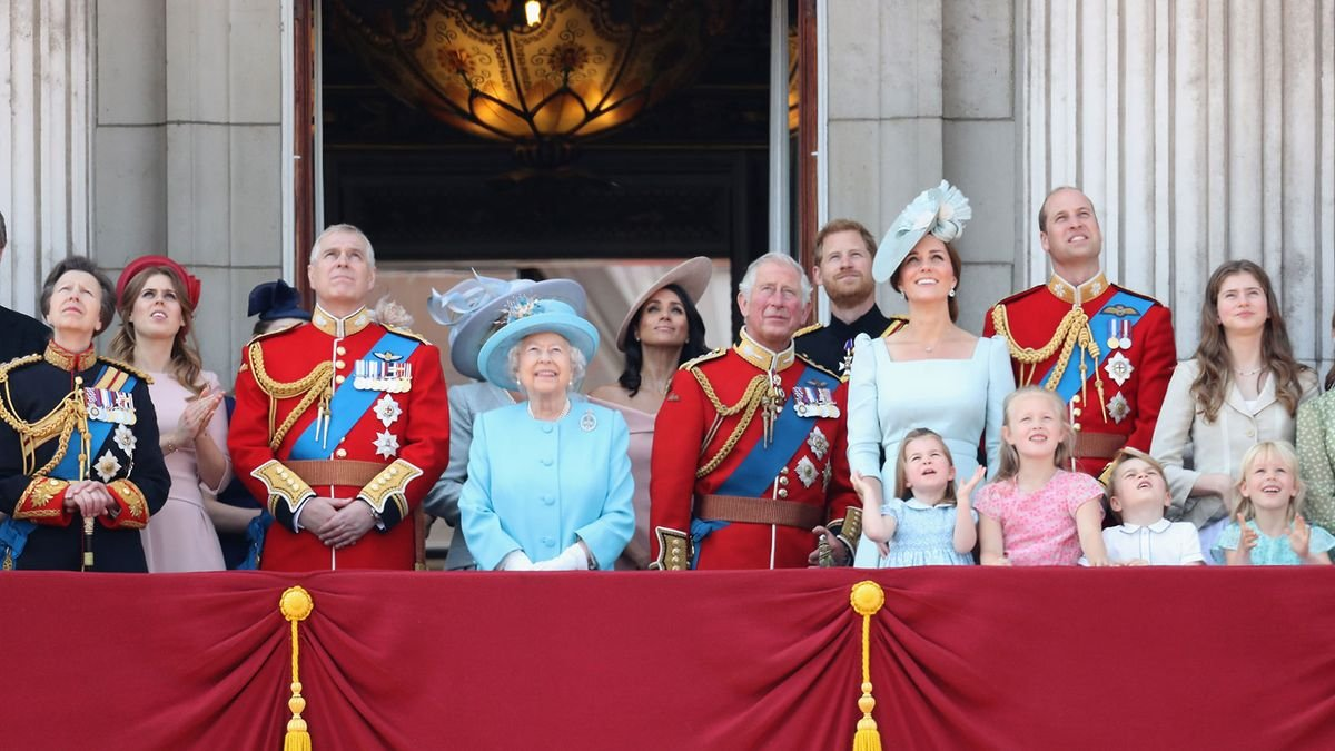 The Tangled Line of Succession to the British Throne