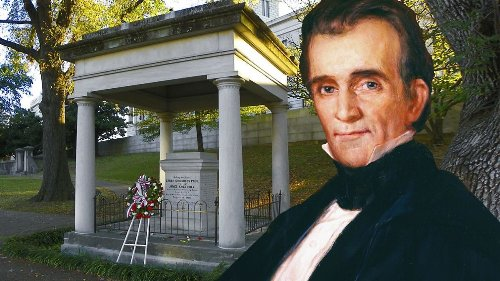 The Plan to Dig Up President James K. Polk — For a Third Time