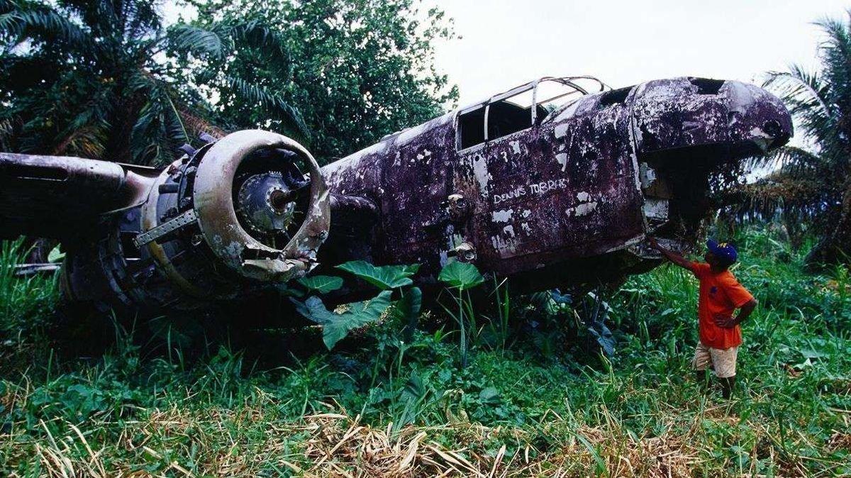 Eerie Plane Ruins Across the Globe Draw Wreckage Hunters