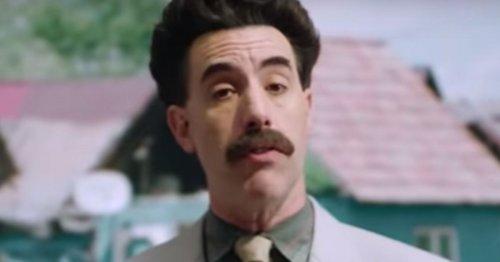 Borat Trolls Trump's Election Lies In Never-Before-Seen Footage