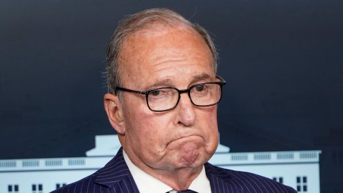 Befuddled Larry Kudlow Rails That Biden Will Force Americans To Guzzle 'Plant-Based Beer'