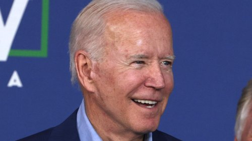 Joe Biden Responds To Rally Heckle With A Ding Of Donald Trump