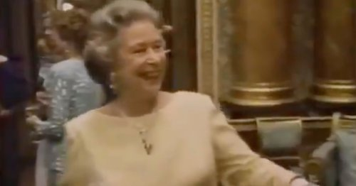 Extraordinary Footage Of The Queen, Prince Charles And Princess Diana At Their Most Candid Is Doing The Rounds